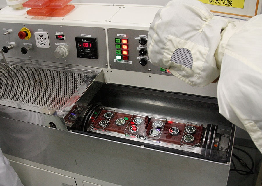 Besuch der Produktionsstätten von Seiko in Japan