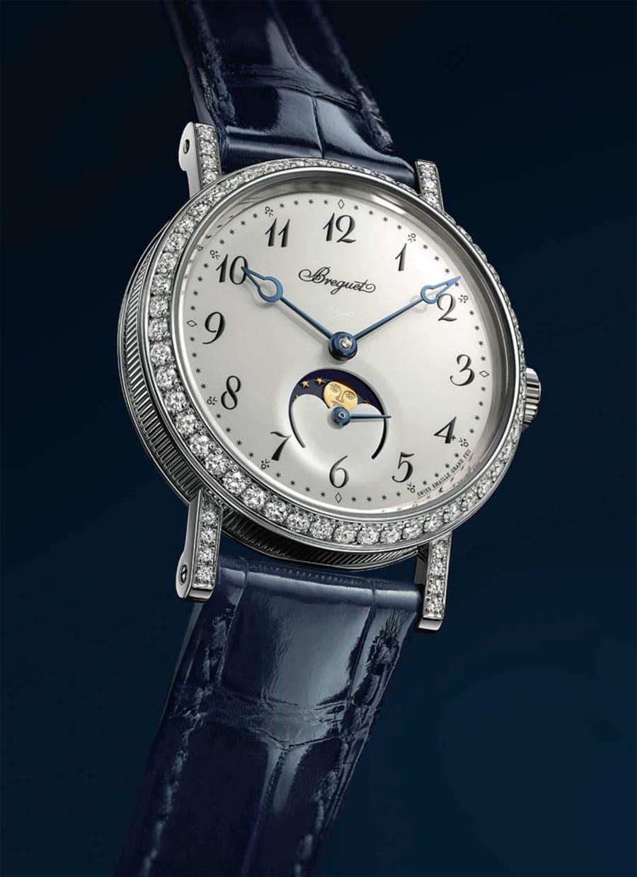 Breguet: Classique Phase de Lune Dame 9088