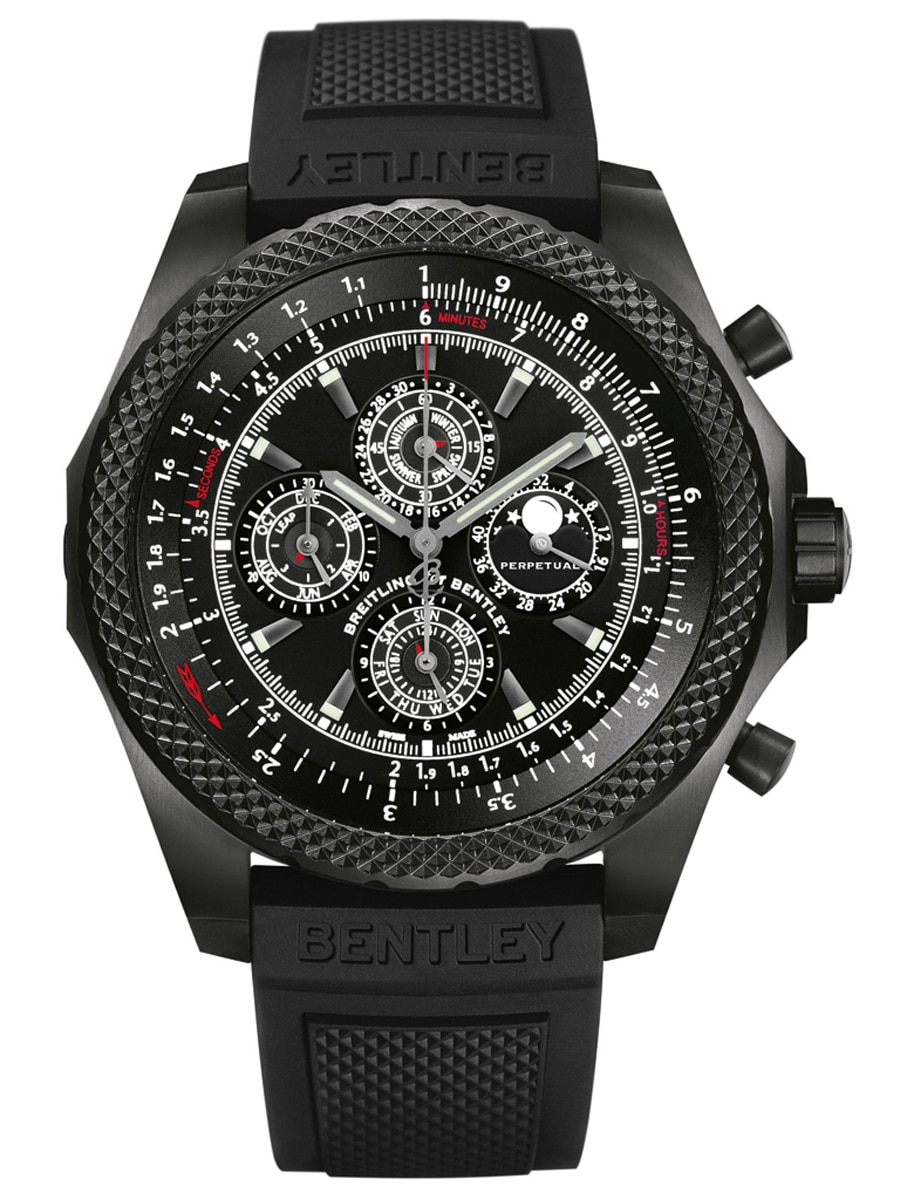 Breitling for Bentley: Light Body QP Midnight Carbon