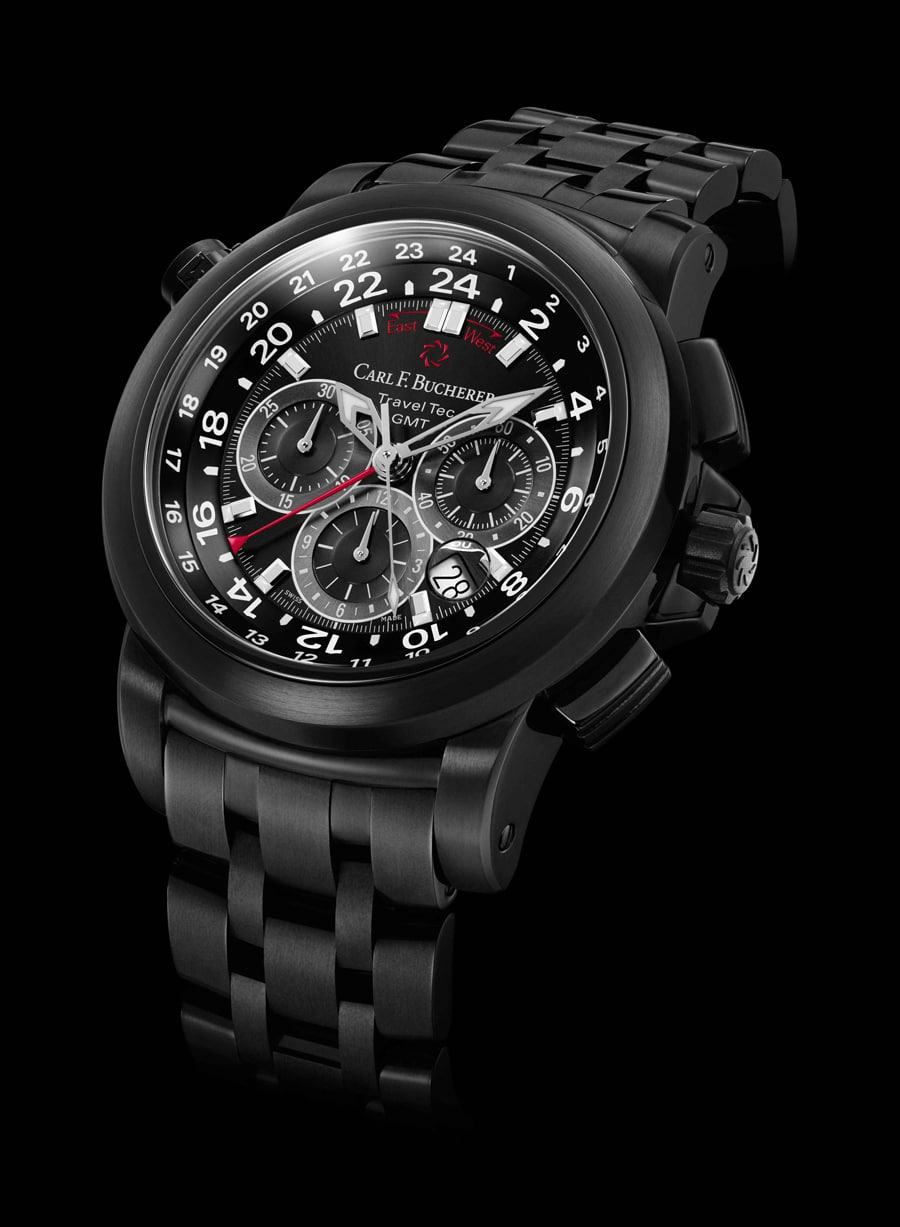 Carl F. Bucherer: Patravi TravelTec Black