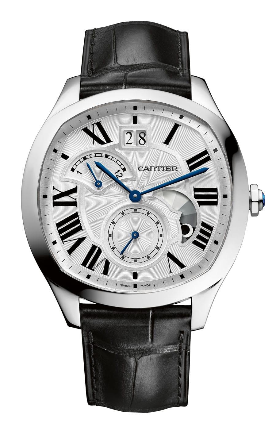 Cartier: Drive de Cartier in Edelstahl