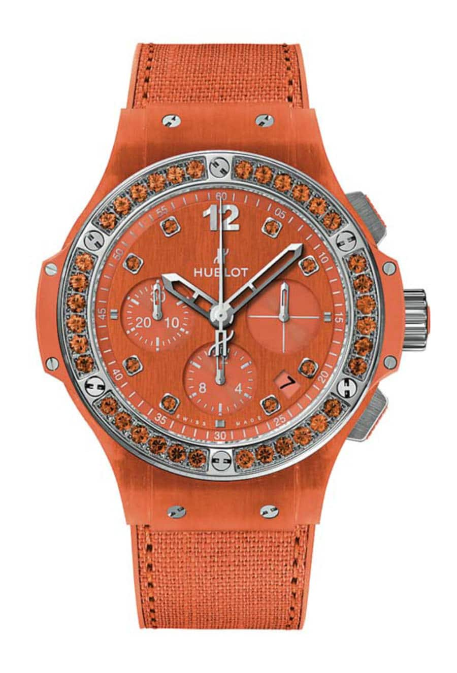 Hublot: Big Bang Tutti Frutti Linen in Orange
