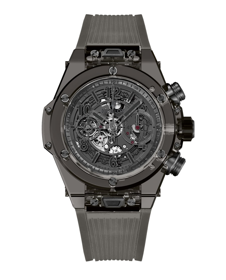 Hublot: Big Bang Unico Sapphire All Black – Baselworld ...