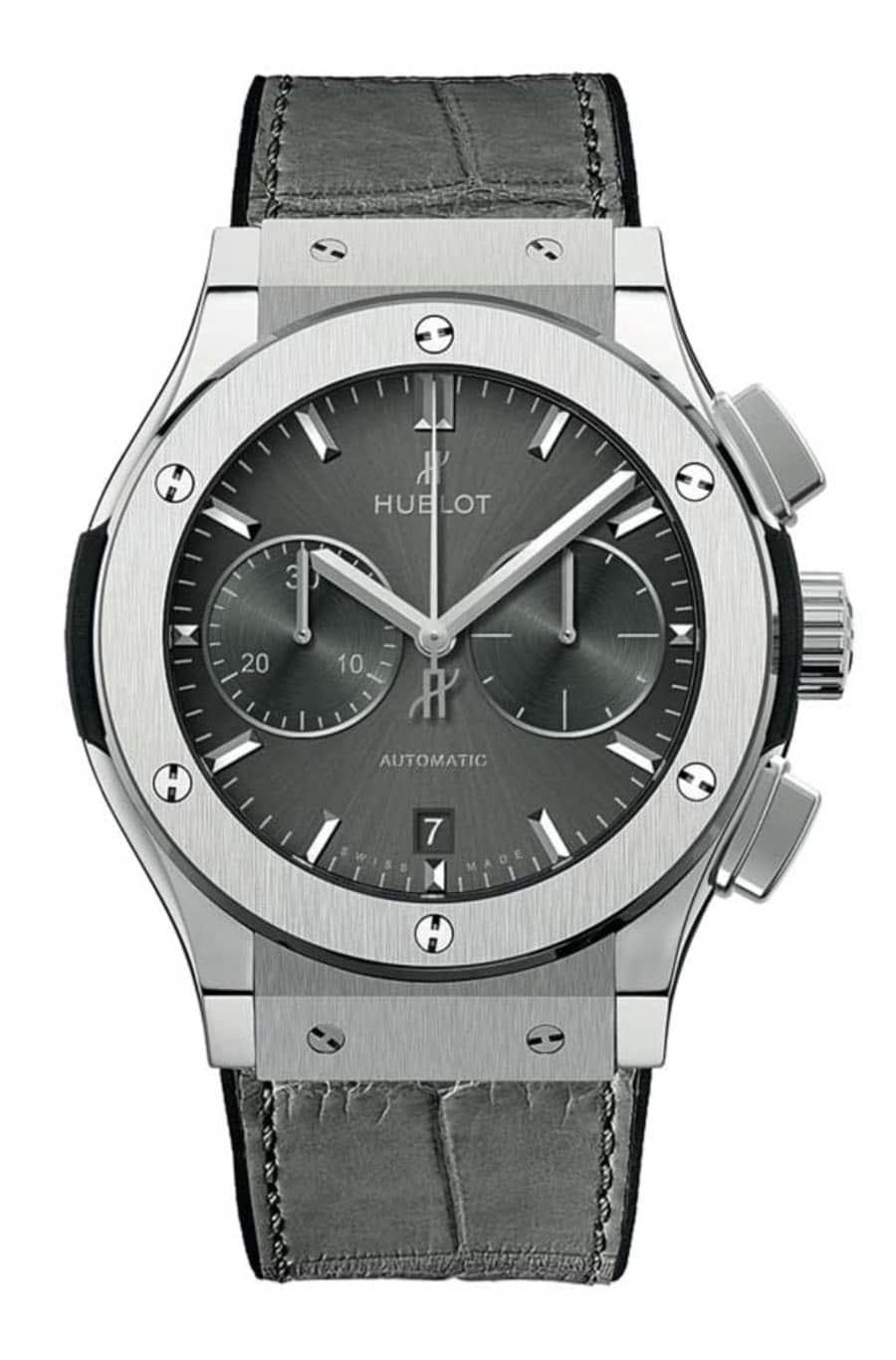 Hublot: Classic Fusion »Racing Grey« Chronograph