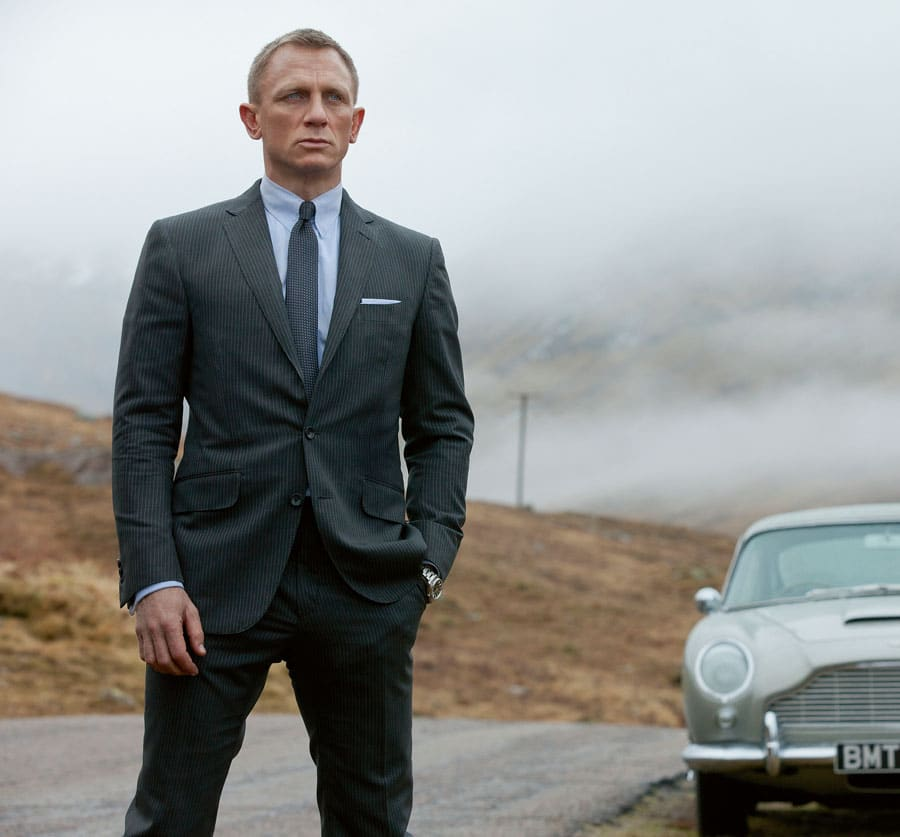 "James Bond: Daniel Craig in ""Skyfall"""