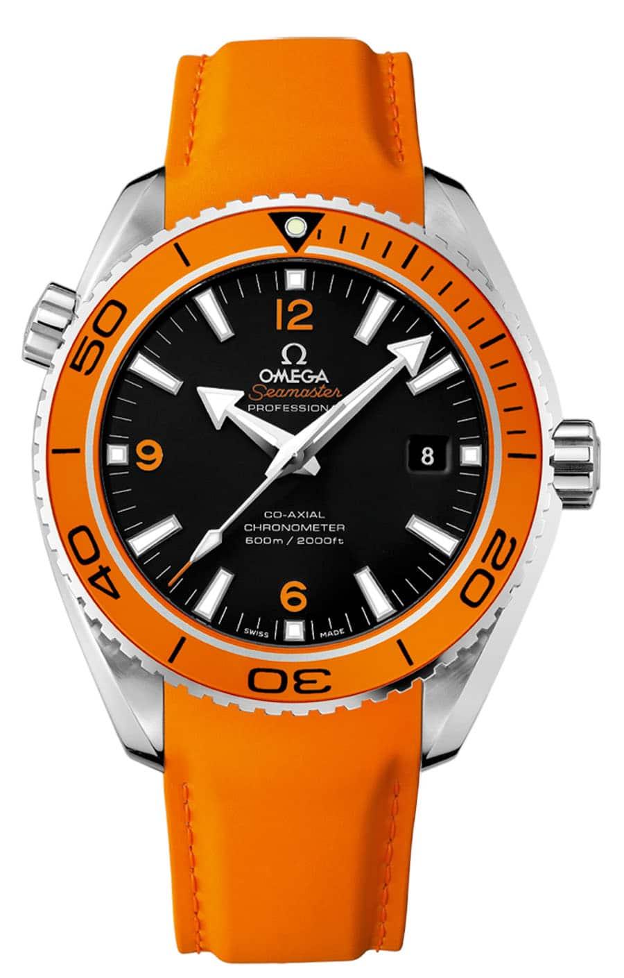 Omega: Seamaster Planet-Ocean in Orange