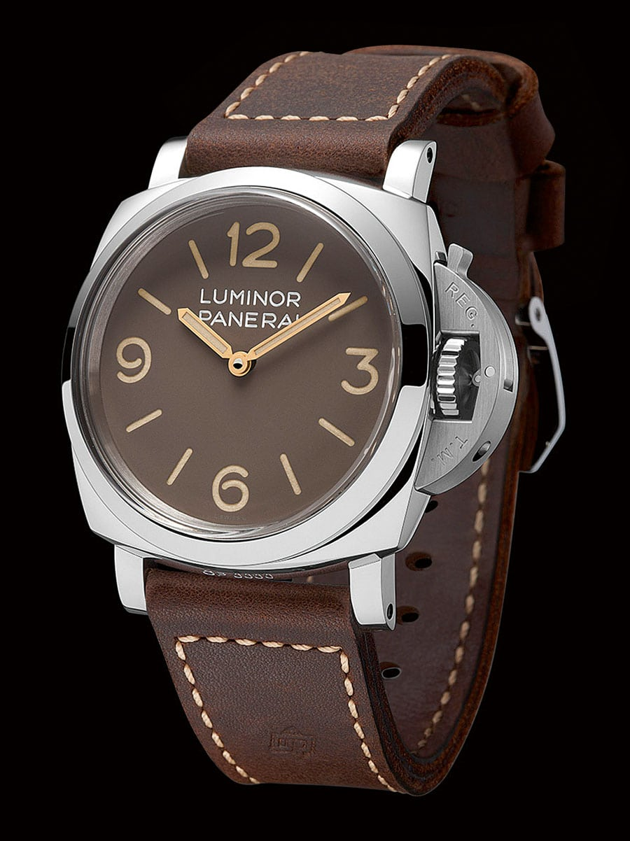 Panerai: Luminor 1950 3 Days Acciaio