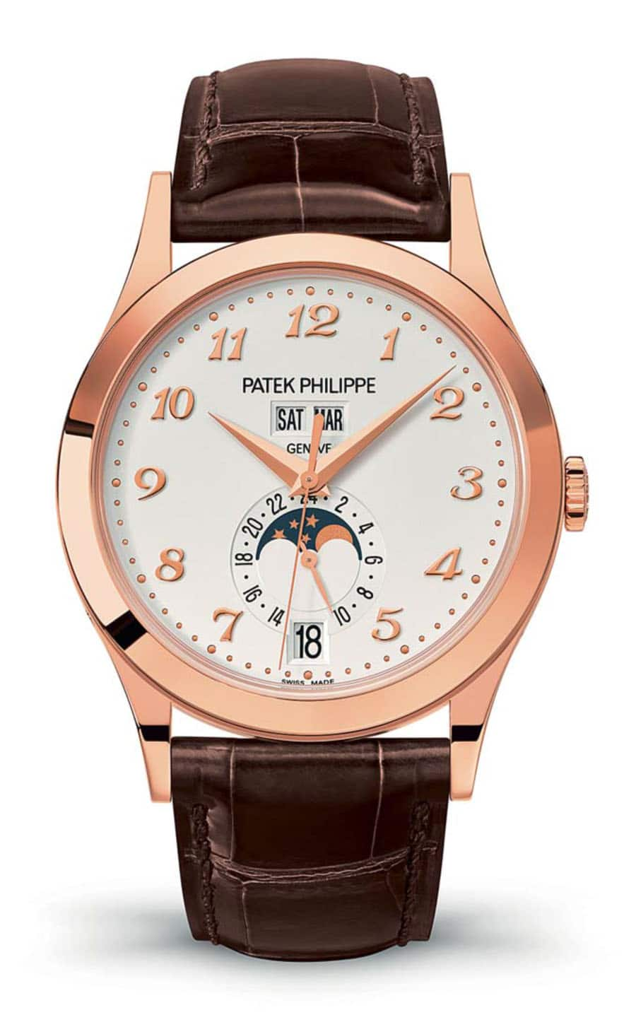 Patek Philippe: Complication Referenz 5396 in Roségold