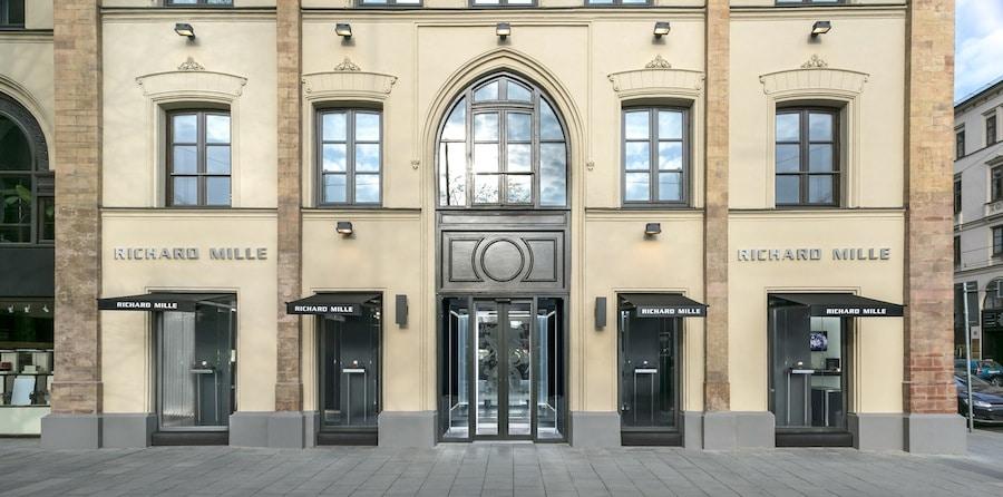 Die erste Boutique von Richard Mille befindet sich in München