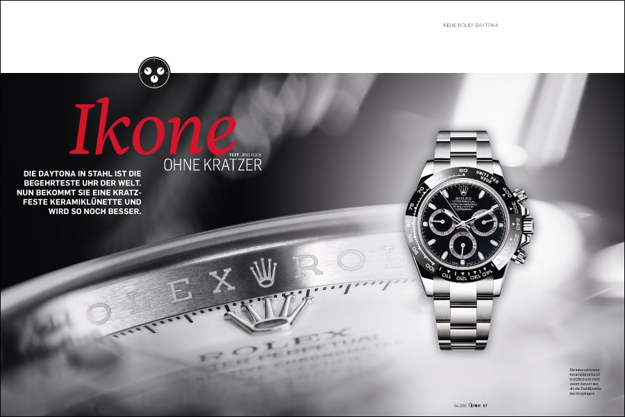 neue rolex daytona test iwc fliegeruhr top gun die 20 besten chronographen u v m. Black Bedroom Furniture Sets. Home Design Ideas