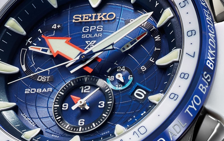 GPS Solar meets Seiko Prospex: Seiko Marinemaster GPS Solar Dual Time Limited Edition SSF001