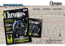 Chronos Mediadaten 2017