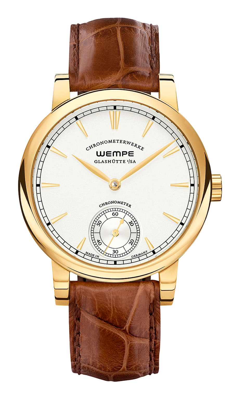 Wempe: Chronometerwerke Kleine Sekunde