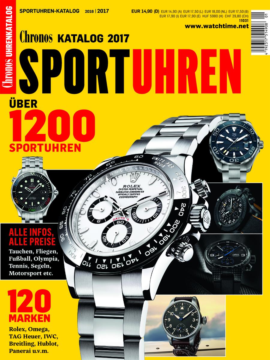 Chronos Sportuhren-Katalog 2016/2017