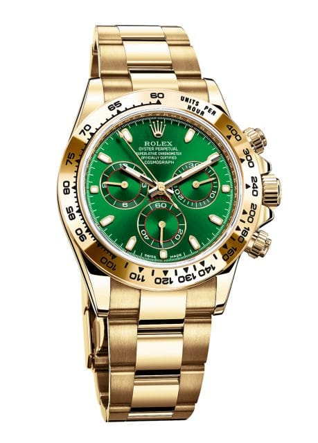 Rolex: Oyster Perpetual Cosmograph Daytona in 18 Karat Gelbgold