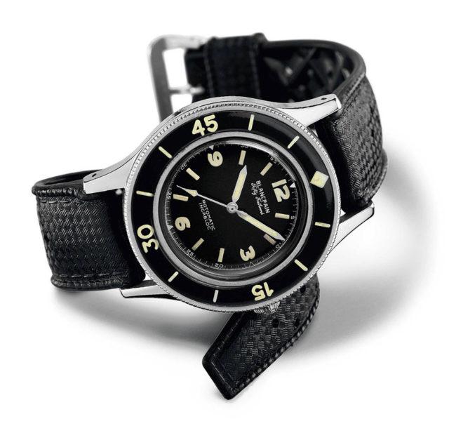 Blancpain: Fifty Fathoms - historische Uhr