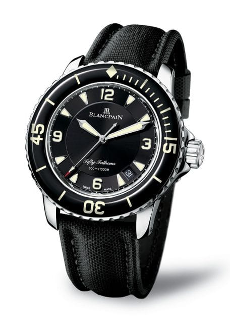 Blancpain: Fifty Fathoms - aktuelles Modell