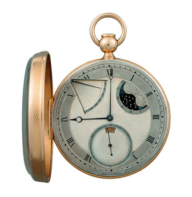 Ewige Uhr mit automatischem Aufzug von Breguet, 1791
