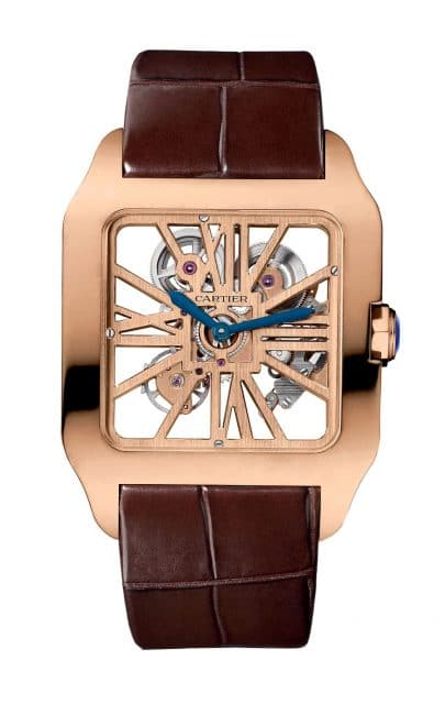 Cartier: Santos Dumont Skeleton