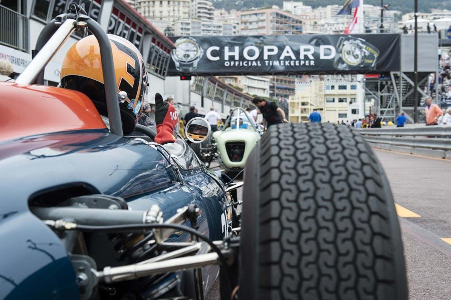 Chopard ist Zeitnehmer der Oldtimer-Rallye Grand Prix de Monaco Historique
