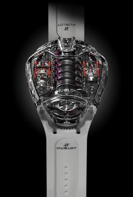 Hublot: MP-05 LaFerrari Sapphire
