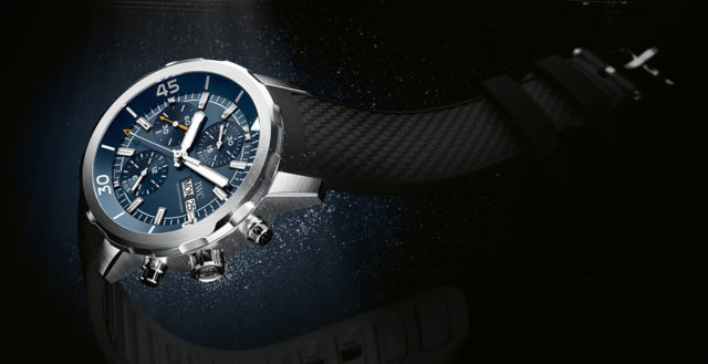 "IWC: Aquatimer Chronograph Edition ""Expedition Jacques-Yves Cousteau"""