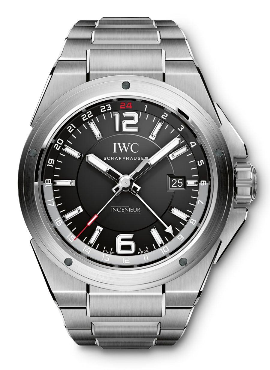 Aktuelle Version der Ingenier Dualtime von IWC