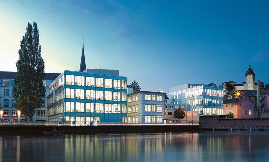 Der IWC-Stammsitz in Schaffhausen (Foto: Photopress/Jonas Kuhn/IWC)