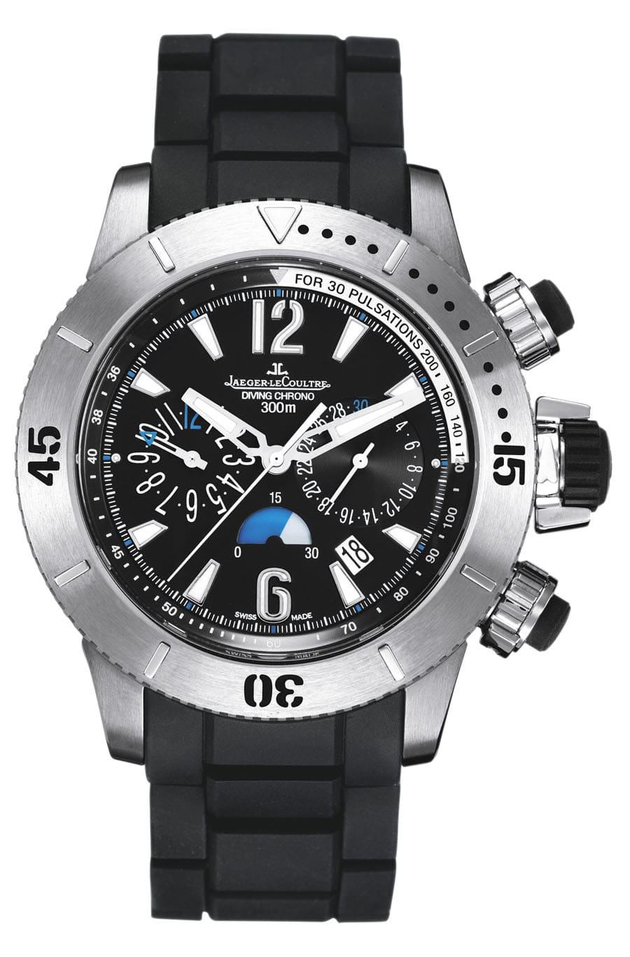 Eine der Uhren, die Hannes Jaenicke trägt: Den Master Compressor Diving Chronograph
