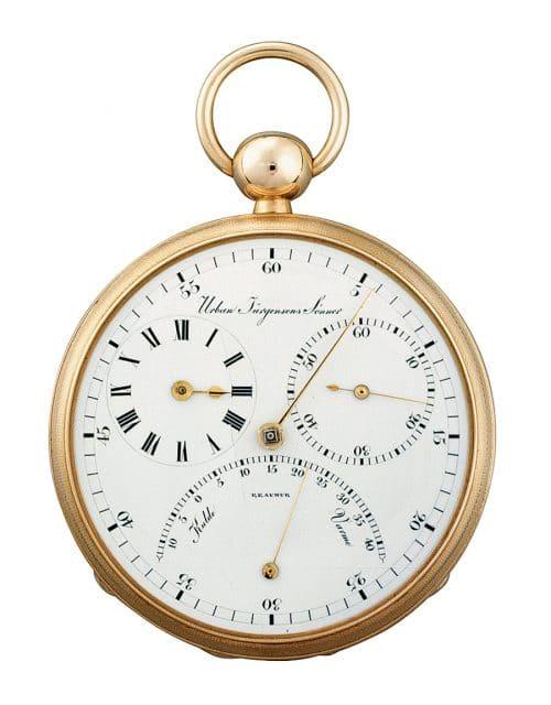 Chronometer mit Tourbillon, um 1830 von Louis-Urban Jürgensen