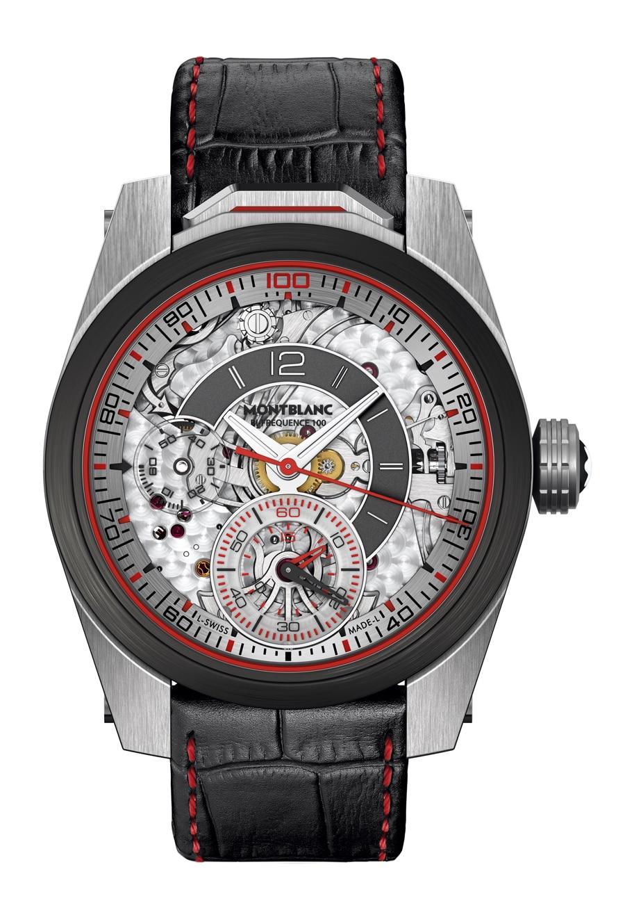 Montblanc: TimeWalker Chronograph 100, 46 Millimeter, Titan, Edelstahl und Karbon, 54.850 Euro