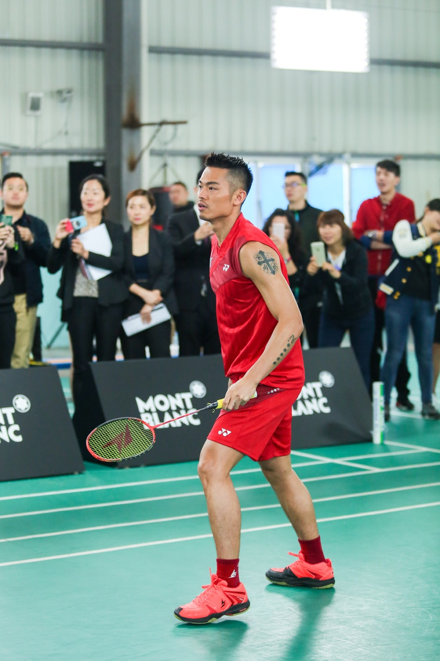 Der Besitzer der Montblanc TimeWalker Pythagore Ultra-Light Concept: Badminton-Superstar Lin Dan