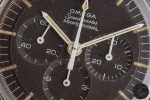Zifferblattdetail der Omega Speedmaster, Referenz 105.012