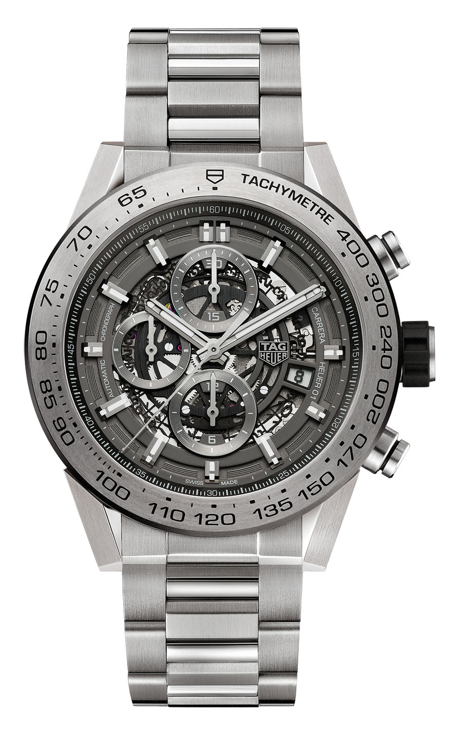 TAG Heuer: Carrera Calibre Heuer 01 Grey Phantom