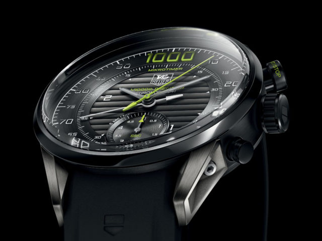 Tag Heuer: Mikrotimer Flying 1000