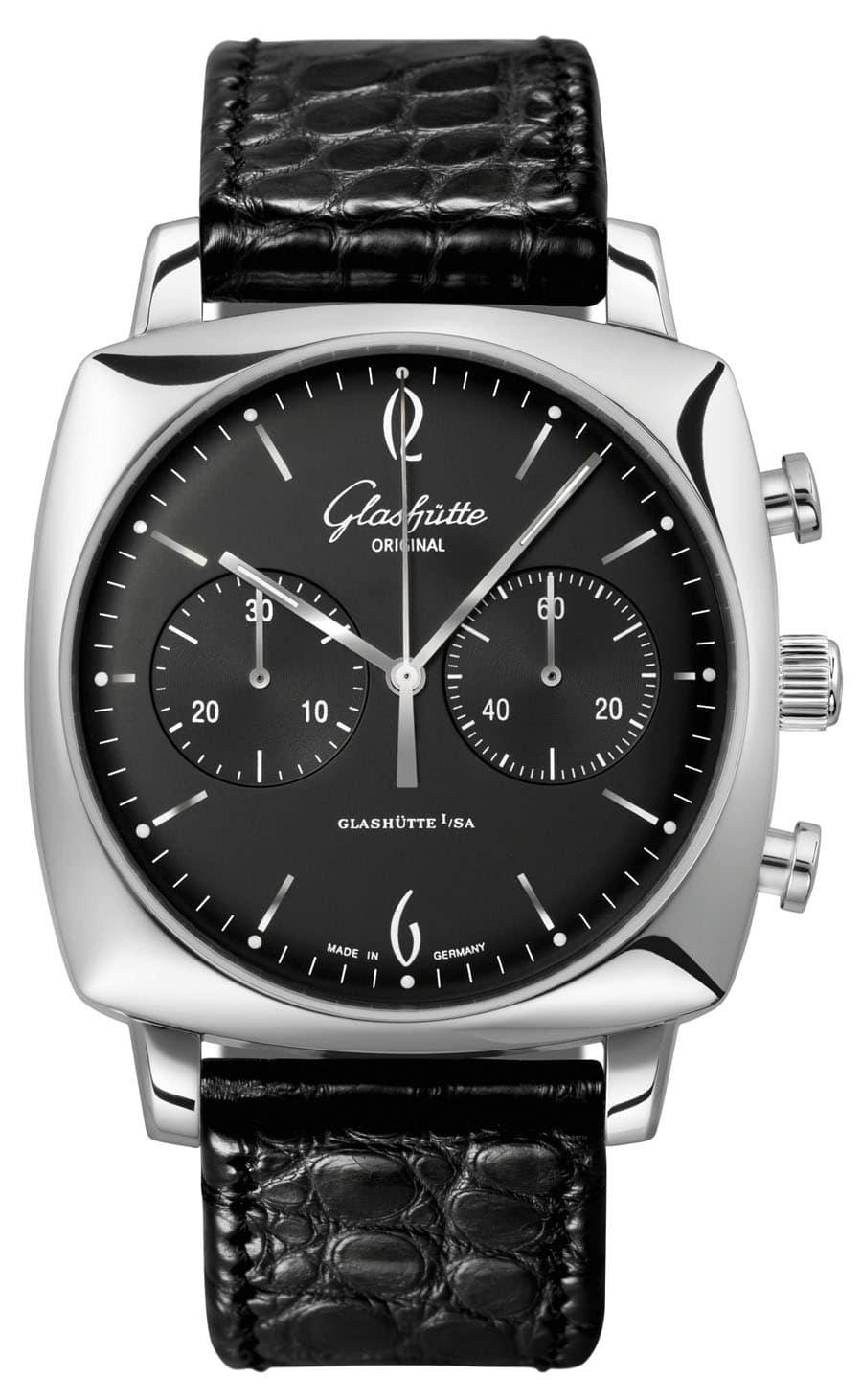Uhren-Ikonen und ihre Alternativen: Glashütte Original Sixties Square Chronograph