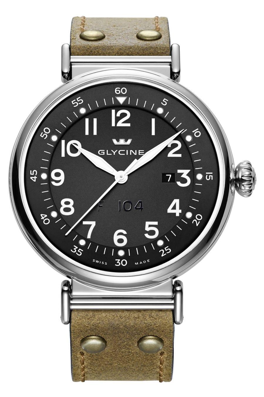 Uhren-Ikonen und ihre Alternativen: Glycine F 104