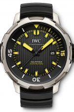 Uhren-Ikonen und ihre Alternativen: Die IWC Aquatimer Automatic 2000 in Schwarz-Gelb