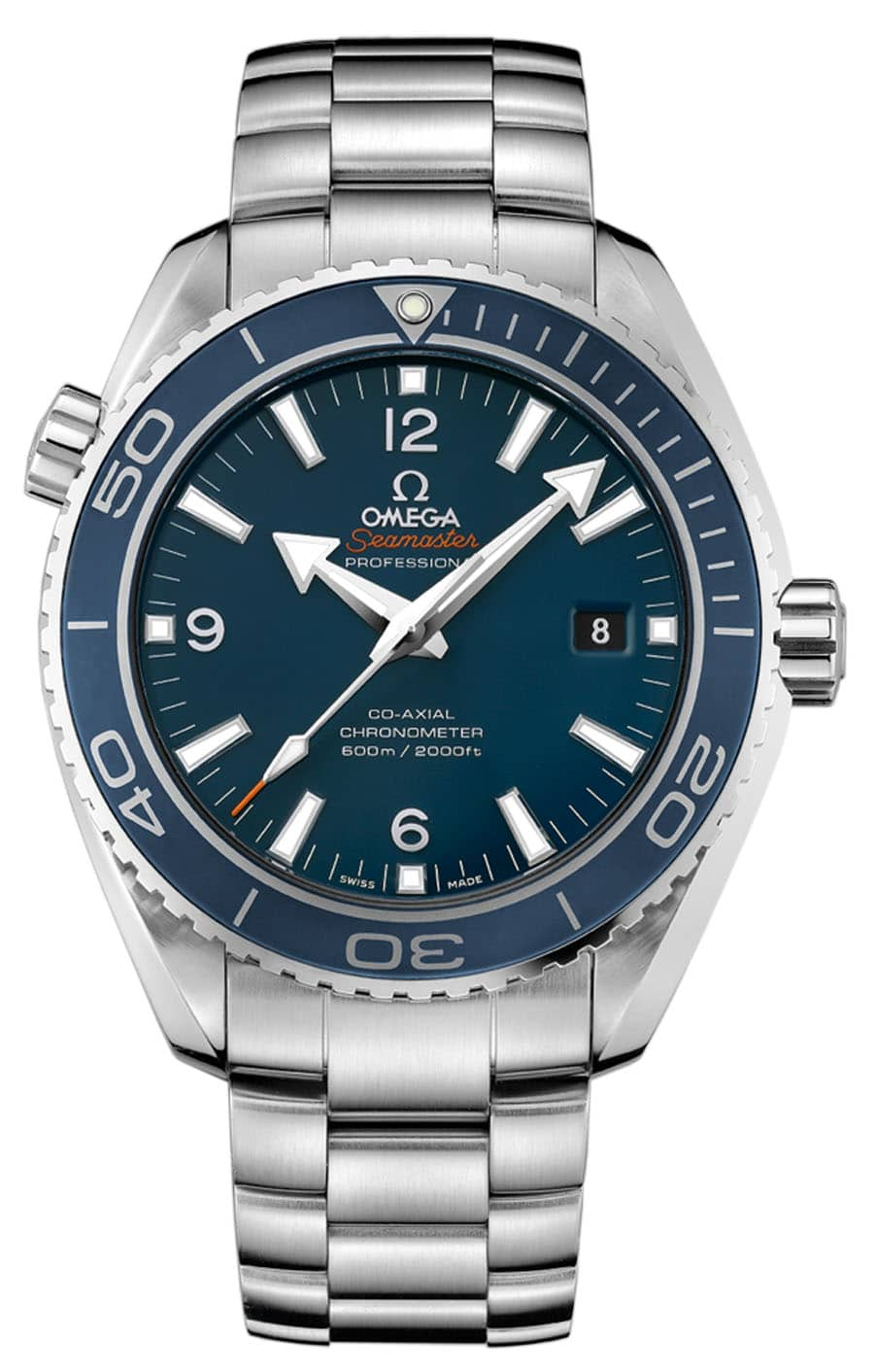 Uhren-Ikonen und ihre Alternativen: Die Omega Seamaster Planet Ocean 600 M Omega Co-Axial 45.5 mm