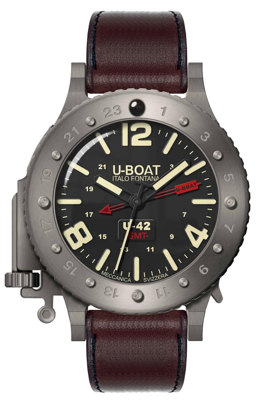 Uhren-Ikonen und ihre Alternativen: U-Boat U-42 GMT