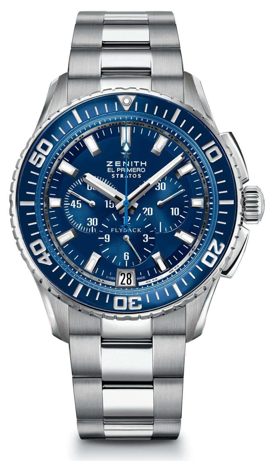 Uhren-Ikonen und ihre Alternativen: Zenith El Primero Stratos Flyback
