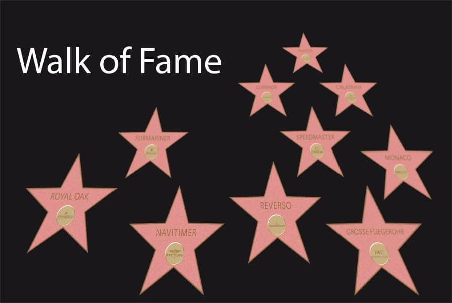 Walk of Fame: Die 10 bekanntesten Uhren-Ikonen und ihre Herausforderer