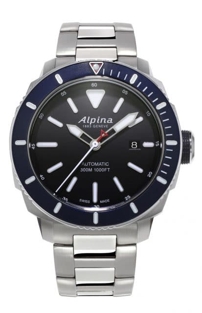 Alpina Taucheruhr: Seastrong Diver 300 Automatic Stahl