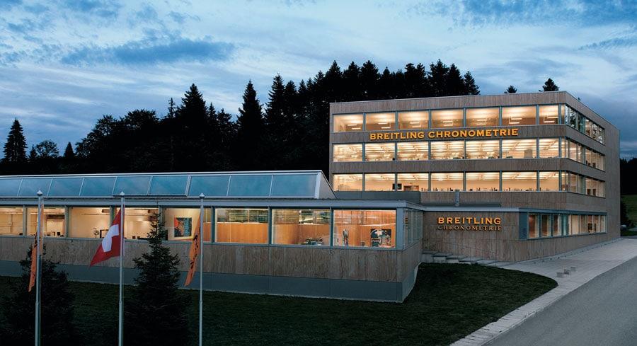 Breitling Chronometrie in La Chaux-de-Fonds