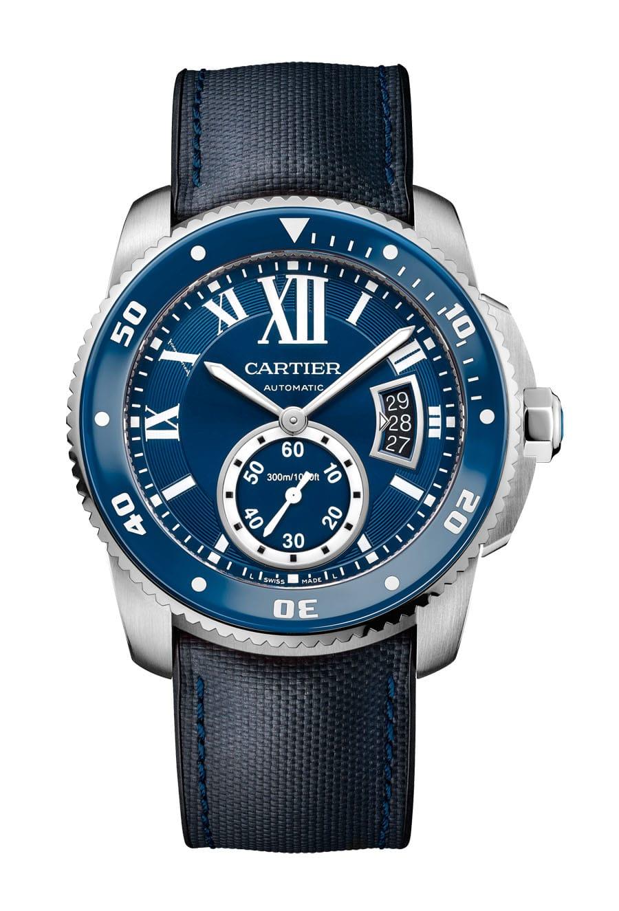 Taucheuhr Calibre de Cartier Diver Blue