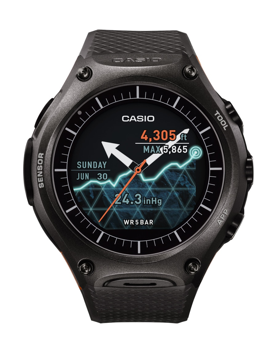 Outdoor-Smartwatch: Casio WSD F-10