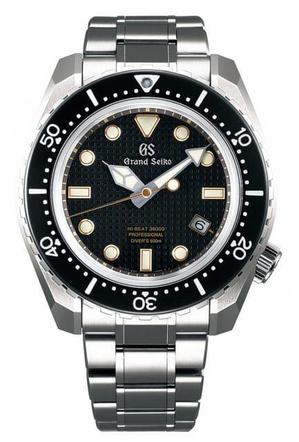 Grand Seiko Taucheruhr: Hi-Beat Professional Divers SBGH255