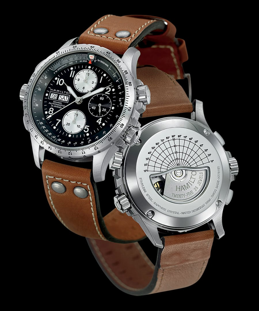 Hamilton: Khaki Aviation X-Wind