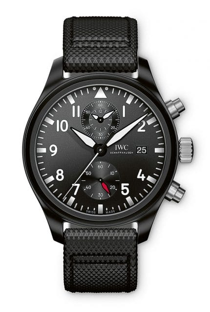 IWC: Fliegeruhr Chronograph Top Gun