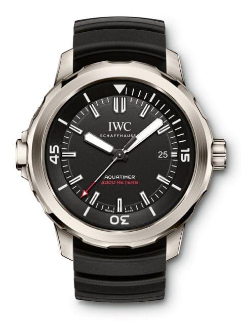 IWC Taucheruhr: Aquatimer Automatic Edition 35 years Ocean 2000